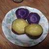 2種類のサツマイモ