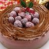 キャナレット フランボワーズとチョコレートのアイスケーキ 5号 宅配 お誕生日に