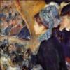 【絵画の解説】ルノワール「劇場にて(初めてのお出かけ)」【ロンドン・ナショナル・ギャラリー】