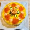 『寿司ケーキ 卵使用バージョン』
