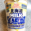 【食レポ】カップヌードル・濃厚ミルクシーフー道ヌードル!
