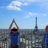 父とのヨーロッパ旅第2弾① パリで「襲撃事件」に遭遇