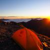 登山シーズンに向けて3種類のリペアシートを試して破れたテントを補修しました