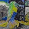 なびす画廊の「田淵安一 遺作展-1I-」が始まった