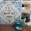 【パリ ホワイト デイ】ホワイトデーのギフトにぴったり花と果実香る青色の青茶。【マリアージュフレール】