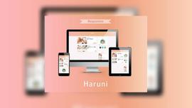 はてなブログ最新テーマ「Haruni」がポップで可愛くて安心で、良き!