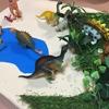 【100均で楽しむ】2歳児次男、恐竜に目覚める【簡単に作れる恐竜プレイマット】