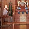 神具の置き方 目に飛び込んでくる神鏡、金幣芯、祓串