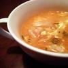 【料理】豚バラ肉と卵のピリ辛中華スープ