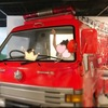 【お出かけ】無料!消防博物館&おススメランチ。雨の日に嬉しい駅直結(3歳・小1)