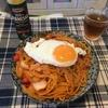【自炊】ナポリタンを作って食う!