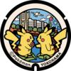 ポケふた|神奈川県のマンホール1個