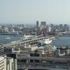 神戸市役所の展望ロビー