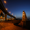 旧堺燈台と大浜インター