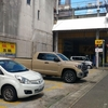 柳ケ瀬でのタンドラの駐車場