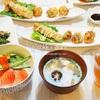 【和食】おうち夜ご飯6日分の記録/My Homemade Dinner/อาหารมื้อดึกที่ทำเอง
