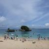 二度目の子連れ沖縄旅行 (3):初めての海遊び