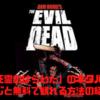 【映画】「死霊のはらわた」のネタバレなしのあらすじと無料で観れる方法の紹介