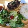 ランチ会♪肉だけで作ったハンバーグ300g!?夕飯はカジキマグロのソテー☆食べてばっかり!