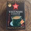 ベトナム食品 フォーを食べて、ベトナムコーヒーを飲む