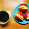 4/12(日)たまごパン、野菜雑炊