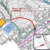 千葉県横芝光町 県道横芝下総線バイパスの開通に伴う交差点形態の変更