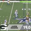 アーロン・ロジャースのサック回避率は今シーズン第3位の19パーセント