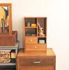 古道具のおしゃれ棚とクラフト雑貨でインテリアライフを楽しむ。