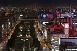 地上100メートルの屋外バルコニー、名古屋テレビ塔で夜景鑑賞!