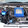 ジムニー JB23W 9型 インタークーラーカバー塗装(WRブルーマイカ)