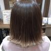 新潟 美容師 三林 グラデーションカラー テールカラー ハイトーンカラー