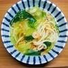 何もしたくない、作りたくない日のご飯。レンジで海鮮あんかけうどんの作り方。