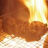 レア感が堪らない!「鴨のタタキ」の出来上がる様子☆神戸三宮の地鶏料理店は安東へ