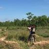カンボジア旅行 日本人ロケットランチャーをやりました。