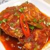 韓国魚料理 太刀魚の煮魚