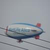 2013/01/20 飛行船が飛んでいた