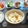 じゃがいもと油揚げの白だし煮は砂糖と白だしだけの素朴な味(´ー`)