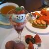 東京・八重洲口にあるシャングリ・ラ ホテル 東京『ザ・ロビーラウンジ(Shangri-La hotel tokyoThe Lobby Lounge)』の平日期間限定なストロベリースイ-ツビュッフェ(New Strawberry Buffet)に(2017年2月)♪♪