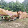無料キャンプへGO!馬場島キャンプ場(富山県)