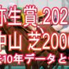 【弥生賞 2021】過去10年データと予想
