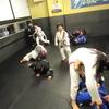 土曜日キッズ柔術クラス、一般柔術クラス。