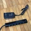 サンワサプライ SANWA SUPPLY USB-3H703BK [急速充電ポート付きUSB3.0ハブ]