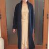 着るだけでクラス感がアップする女優コートはオンオフ・オールマイティ