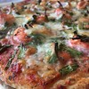 Seafood/GreenOnion Pizza