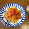 ミニトマトのパスタ③クリームソース