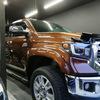 自動車ボディコーティング USTOYOTA(北米トヨタ)/タンドラクルーマックス1794  ボディ磨き+樹脂硬化型コーティング【Ω/OMEGA】+樹脂パーツコーティング