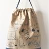 入園入学グッズレッスンー⑧ お着替え袋。