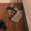 ☆汚れたマグカップ、床に置かれたまま早3週間