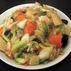 札幌市豊平区平岸 中国料理 珠華飯店 平岸店でエビやきそば(蝦仁炒麺)