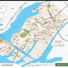 4時間(25,000歩)をかけて大阪市港区を散歩。
